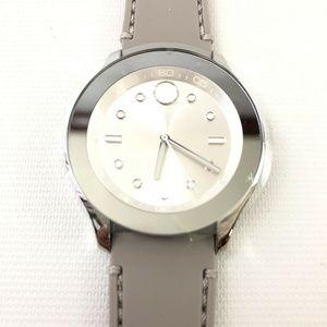 Movado Accessories - New Movado Ladies Bold Silver Dial Watch 3600412 G